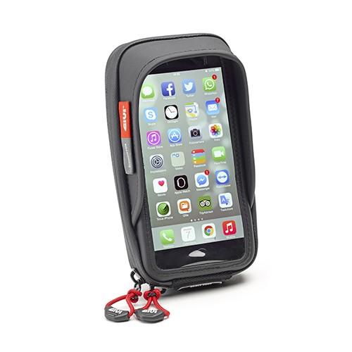 1825db6d55 SUPORTE SMARTPHONE GIVI S957BBR PARA IPHONE6   SAMSUNG NOTE 4 Adão ...