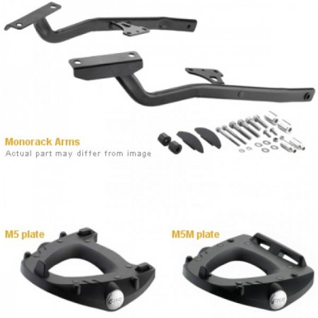KIT SUP MONORACK 1146FZ + BASE GIVI