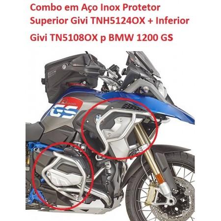 COMBO GIVI TN5108OX + TNH5124OX R1200GS