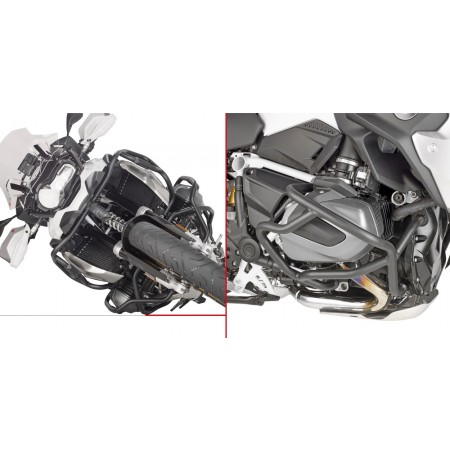 PROTETOR DE MOTOR INFERIOR GIVI TN5128 R1250 GS/ R / RS
