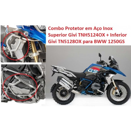 COMBO GIVI TN5128OX + TNH5124OX R1250GS